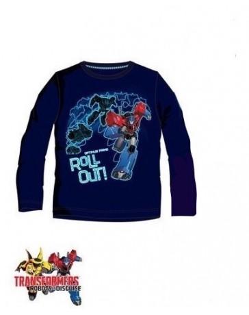 Chlapecké tričko dlouhý rukáv Transformer Disney