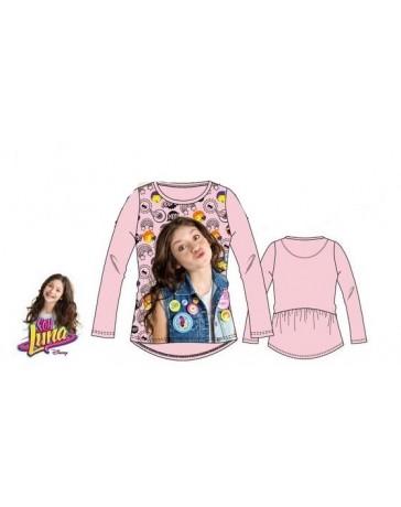 Dětské dívčí tričko dlouhý rukáv Soy Luna