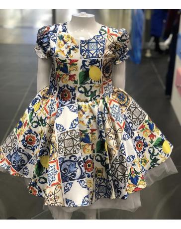 Dívčí šaty slavnostní
