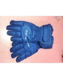 Lyžařské rukavice modré