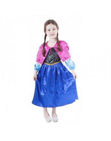 Dětský kostým princezna zimní království - Anna