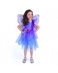 Dětský kostým fialová víla