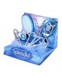 Korunka princezna s příslušenstvím modrá