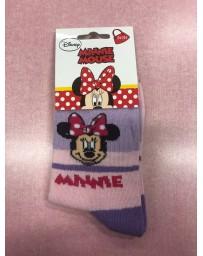 Ponožky Minnie růžovo-filové Disney