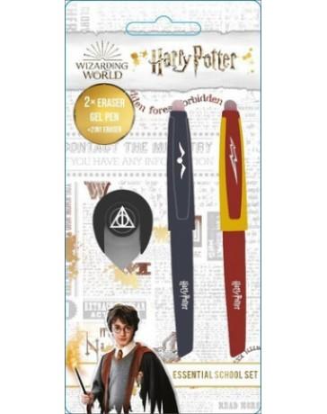 Harry Potter - Gumovací pera v setu