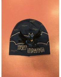 Chlapecká čepice Jaro/podzim Batman tmavé modrá