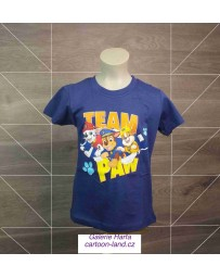 Chlapecké tričko TLAPKOVÁ PATROLA modré