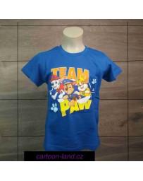 Chlapecké tričko TLAPKOVÁ PATROLA sv. modré