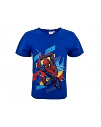 "SETINO Chlapecké triko ""Spider-man"" - světle modrá"