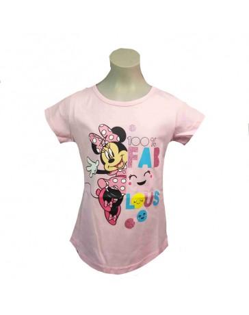 DISNEY tričko MINNIE MOUSE světle růžové