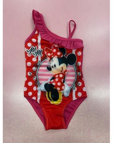"""SETINO Dívčí jednodílné plavky """"Minnie Mouse"""" - červená"""