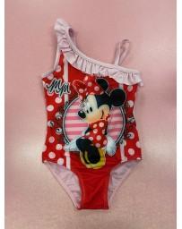 "SETINO Dívčí jednodílné plavky ""Minnie Mouse"" -  fuchsiová"