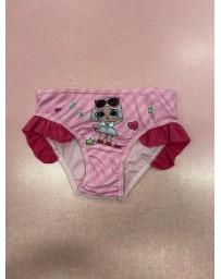 Dětské dívčí plavky LOL Surprise růžové