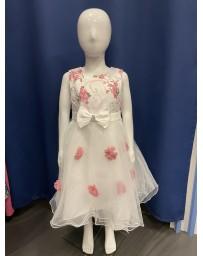 Šaty slavnostni svatební bílé s kitkama