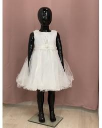 Dětské holčíčí šaty bilé
