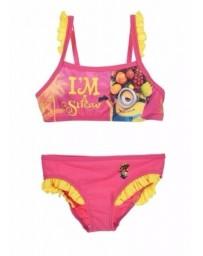 Divčí plavky Mimoni Disney.