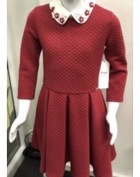 Dětské dívčí šaty červené Daga