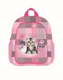 Batoh dětský předškolní junior kočka